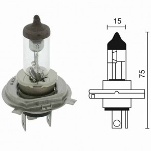 Lamp halogeen 12 V - 60/55 W model H4