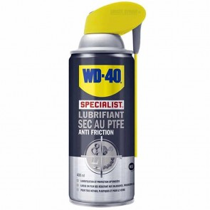 Lubrifiant sec au PTFE anti friction WD - 40 SPECIALIST 400 ml