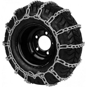 Set sneeuwkettingen - Afmetingen Band: 22 x 1100 - 8 • 22 x 1100 - 10 • 23 x 1000 - 12 • 23 x 1050 - 12 • 24 x 950 - 12